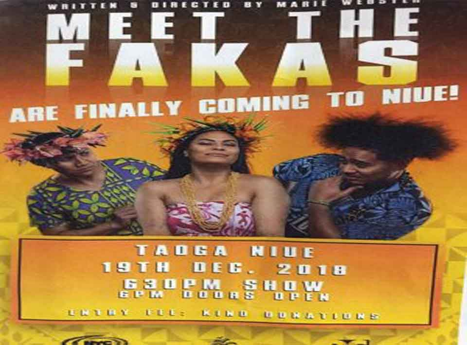 """Award-winning, bi-lingual, comedy-drama """"Meet the Fakas"""" with the  cast and crew of 18 put on a spectacular performance with art and  cultural flare at the Hakupu Tuatea and Taoga…"""