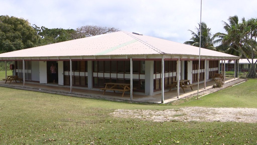 Niue's USP Campus has a new satellite dish which is yet to be installed.  The satellite dish allows internet services and connectivity for online courses particularly for courses taught online from…