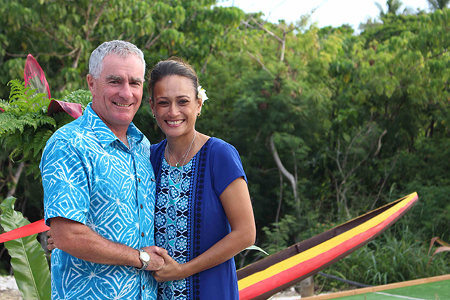 Pauline and Mark Blumsky are Niue's first couple to win the annual Niue Lawn Bowls championship in their respective single women and single men's categories.The championship had 24 participants -…
