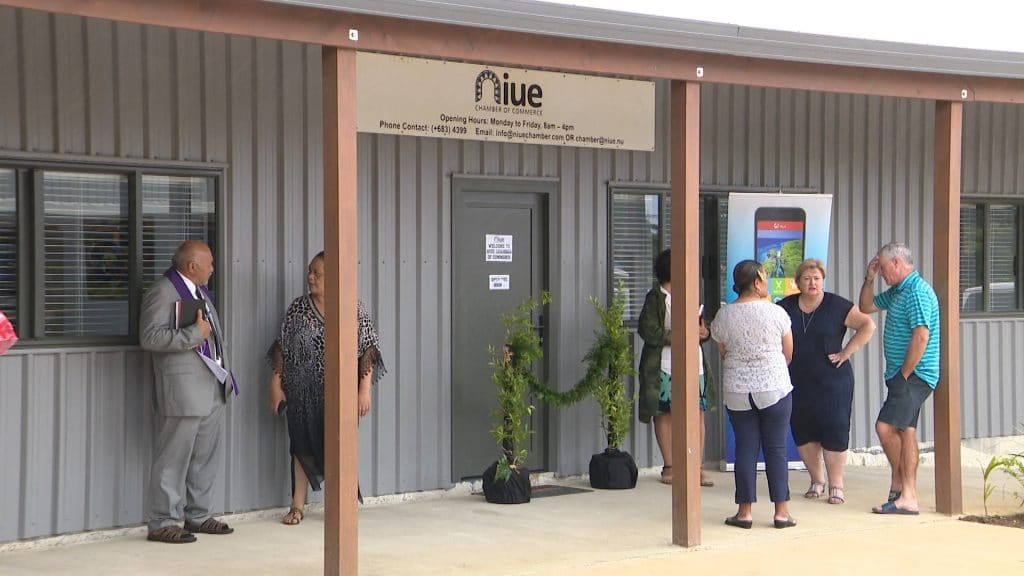 The Chamber of Commerce officially opened its new office at the Swanson Shopping center yesterday.  The President of the Ekalesia Niue blessed the new office during the opening ceremony.  The event was…