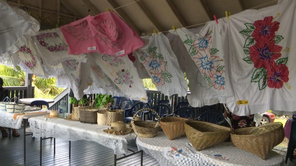 Locally designed pillow cases was the theme of the Hikutavake Women's Council show day held yesterday.  Hikutavake is the first village to hold their annual show day for 2019.  On display yesterday…