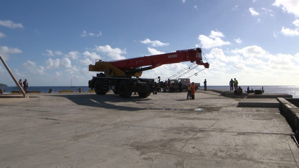 A new crane has been installed at the Sir Roberts Wharf.A small gathering took place at the Sir Roberts Wharf last Thursday to acknowledge and bless the installation of the…