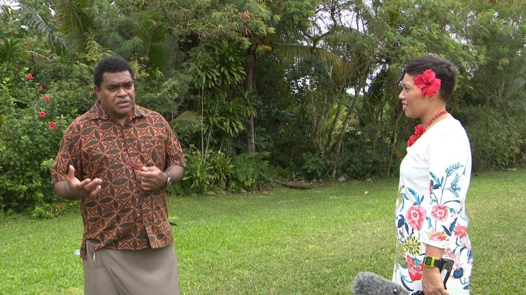 Dr Tui Rakuita lecturer for the Postgraduate diploma course in Pacific studies is here on the island for another week to oversee the final major projects undertaken by the 7…