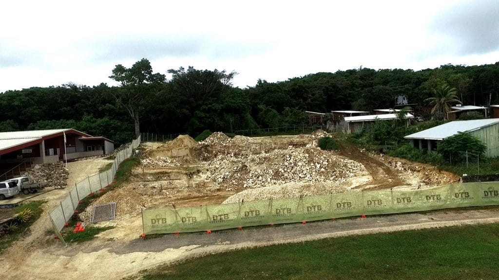 Work on the new Fale Fono Building at Halamahaga has stopped amidst concerns of land lease issues and a court injunction filed by opposition member Terry Coe .  BCN news was able…