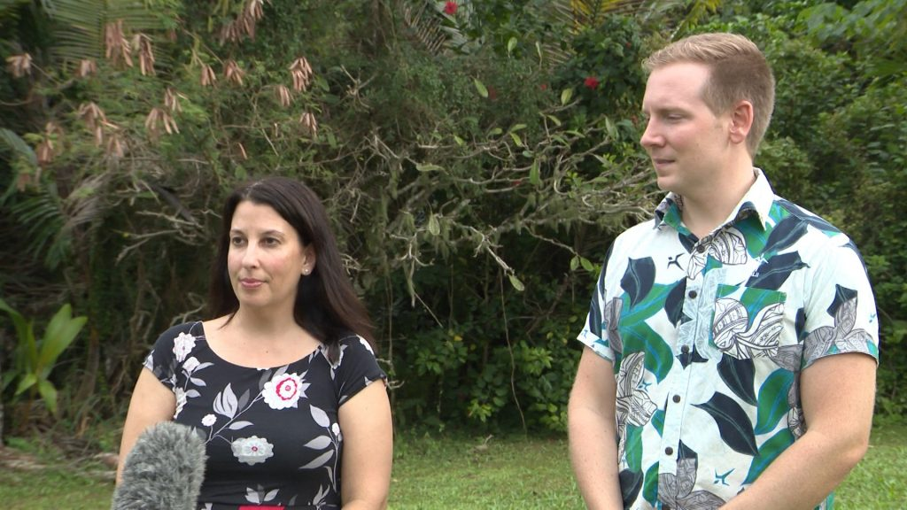 The US Government is looking at areas of cooperation with Niue.Two Officials from the US Consulate in Auckland, Political – Economic Officer Ted Danowitz and Public Affairs Officer Natalie Wilkins are currently on…
