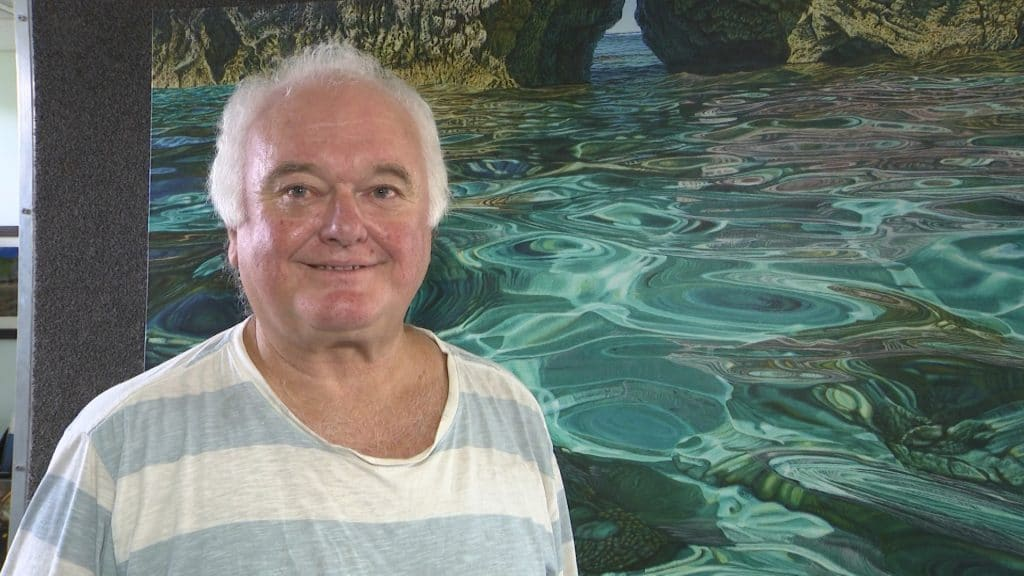 Niue is on show through the artworks of renowned artist Mark Cross which are being showcased in a digital art exhibition.  The digital art exhibition opened in Milan, Italy on…