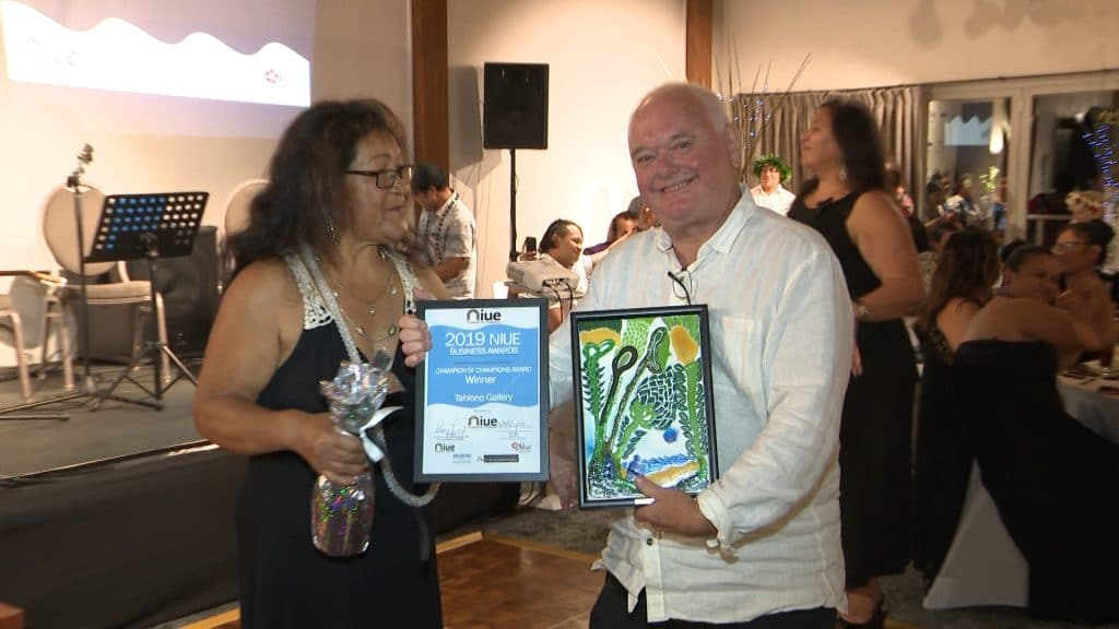 The 2019 Business Awards was held over the weekend at the Scenic Matavai with Tahiono Art Gallery winning the most prestigious Champion of Champion Award on the night.  The Business Awards…
