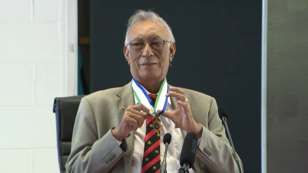 Sir Toke Talagi is still in NZ according to the information circulated by the Director of Cabinet and Parliamentary services Christine Ioane.   The circular informed the public service of the movements of the Ministers…
