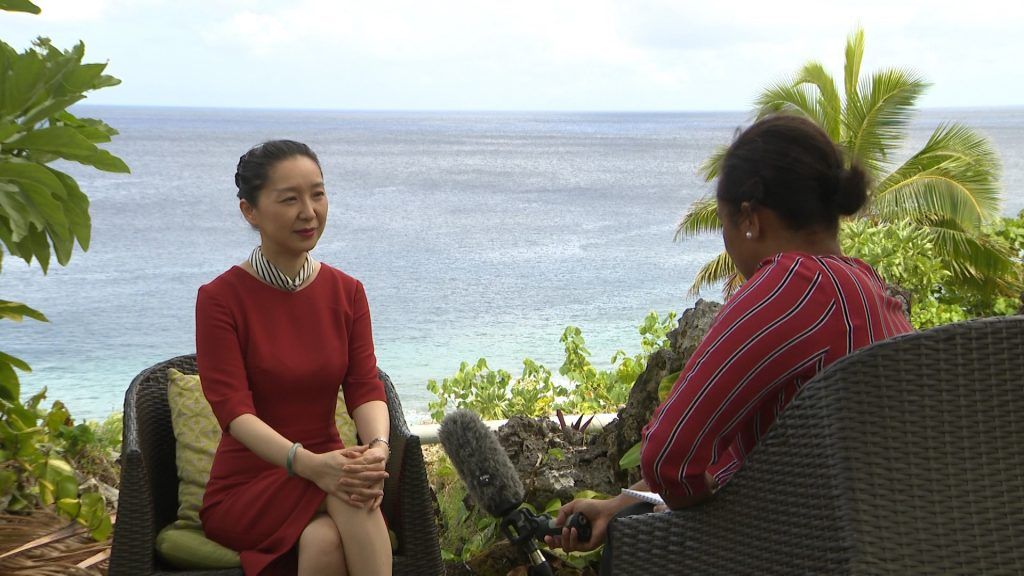 """""""There are no strings attached to our assistance to Niue""""This is the comment of China's Ambassador to New Zealand, Niue and the Cook Islands Wu Xi when asked by BCN…"""