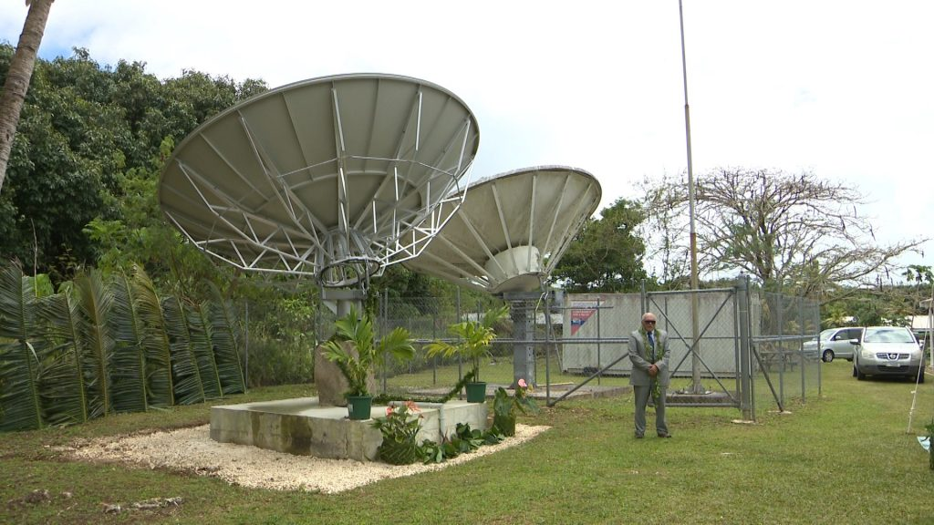 Niue's USP Campus will now have better connectivity for online learning through its new satellite dish.  The new satellite system was officially launched yesterday by the Chief guest Jackie Frizelle who…
