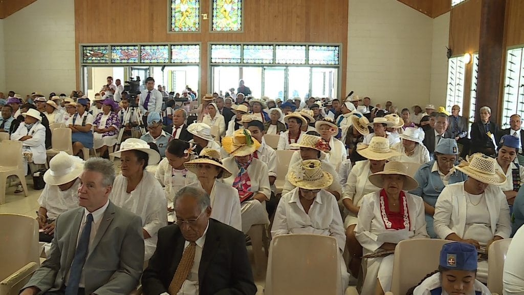 The annual Peniamina Day ceremony marking the arrival of the gospel in Niue in it's 173rd year took place at the Ekalesia Niues Millennium Hall in Alofi yesterday.  All 13 Ekalesia…