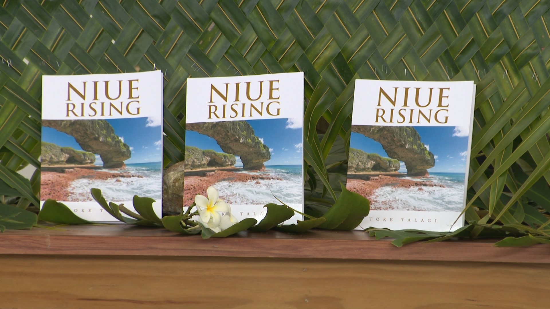 Premier Sir Toke Talagi's new book has been officially launched today.Called Niue Rising, this is a biography of Sir Toke Tufukia Talagi and his life in Niue to a knight of the realm. It…