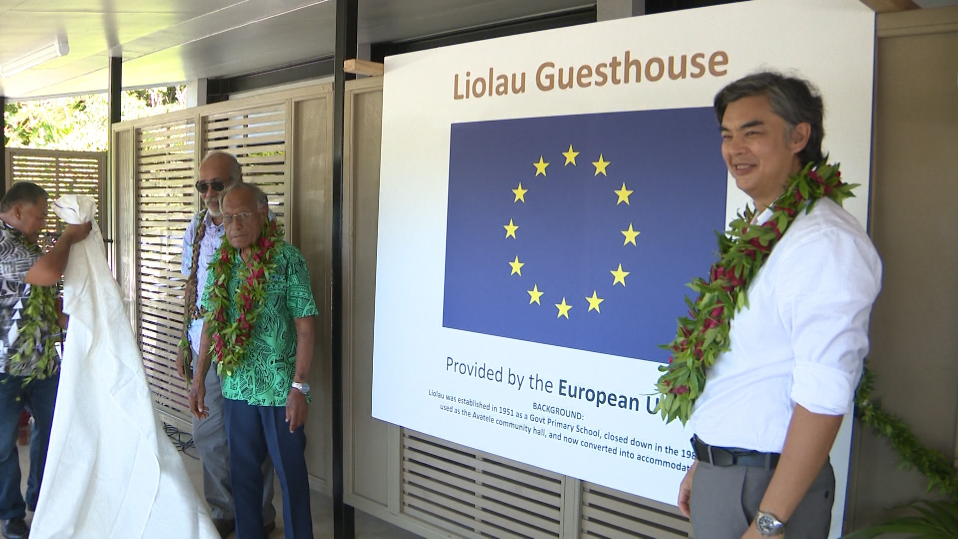 Members of the Avatele Community, Government dignitaries and the invited guests all gathered at Liolau for the official opening of the Liolau Guesthouse.   Performing his first duty as the Ambassador of…
