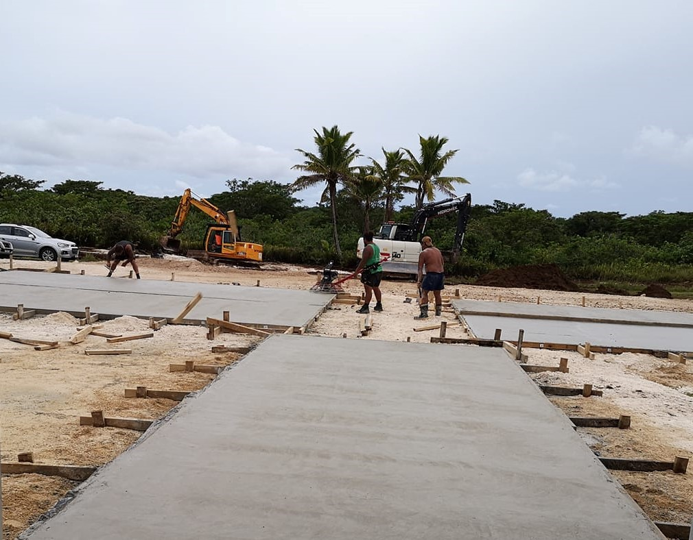 A Covid 19 isolation center has been prepared at the Niue Foou hospital site.  The ground works have been carried out just behind the hospital.  Acting Chief Medical Officer Dr Waimanu Pulu…