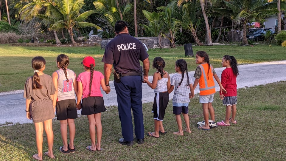 The Niue Police have begun new community policing focusing on the safety of children and building relationships between children and the police.  Chief of Police Timothy Wilson states these programmes are…