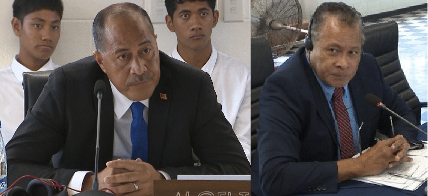 The Premier Dalton Tagelagi and Minister for Finance Crossley Tatui appears to have a shared portfolio in Finance and Planning.  Following the appointment of the Premier's 'Cabinet of Unity', the detailed…