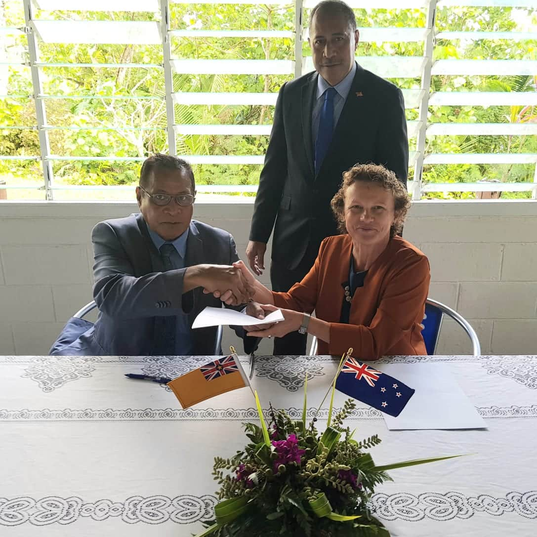 New Zealand has contributed a further $6 million to support Niue's response to the Covid-19 pandemic.  NZ High Commissioner to Niue Helen Tunnah signed the grant funding letter at Parliament today,…