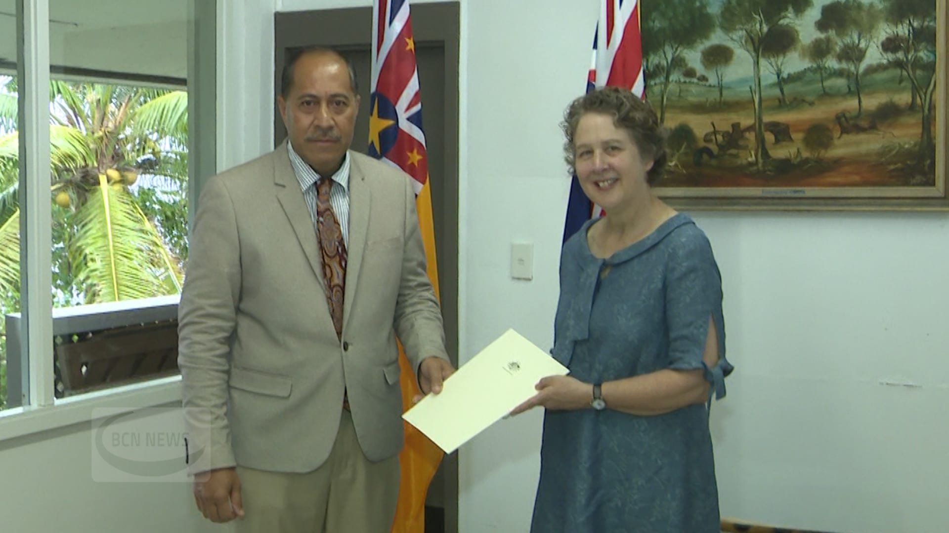 The new Australian High Commissioner to Niue Susan Allen has presented her credentials to the Premier Dalton Tagelagi and Cabinet this morning.  Allen is Australia's first resident High Commissioner to Niue.…