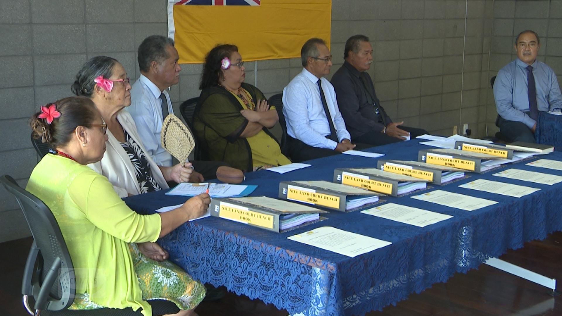 Six Commissioners of the High Court of Niue have been sworn in.  They are Tutuli Heka, Florence Maureen Vilitama Melekitama, Tom Tamatoa Misikea, Minemaligi Pulu, Deve Kolose Talagi and Beckys Christmas…