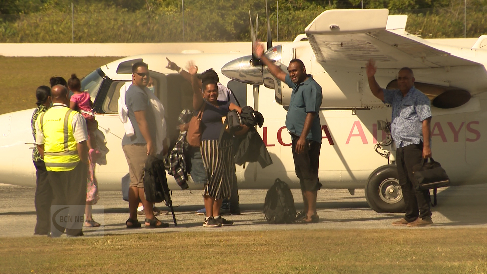 Talofa Airways from Samoa landed at Hanan International airport this morning at 8.30am on what was described by the Government as a humanitarian repatriation flight bound for Fiji.  The Niue government…