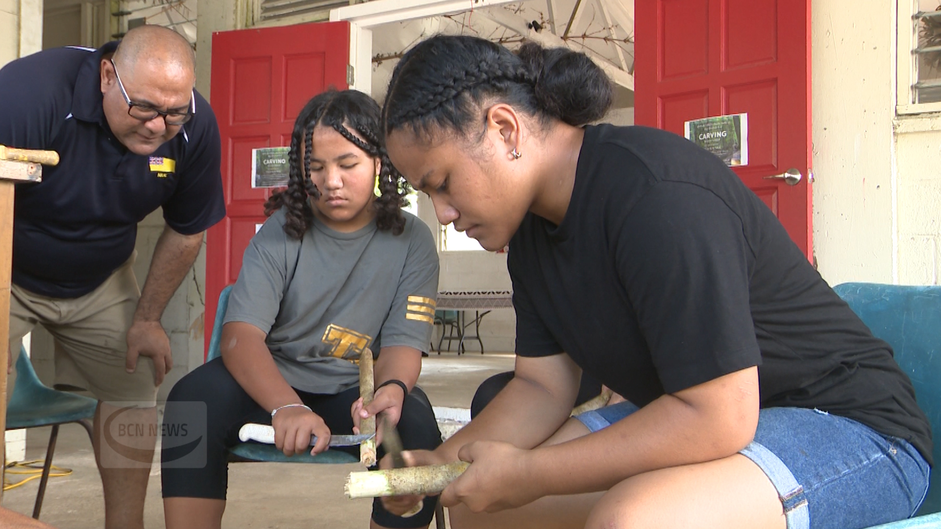 What was traditionally a practice for men is now being encouraged for women.  A Woodcarving workshop was held for youths at the Alofi South Hall by the National carving association -…